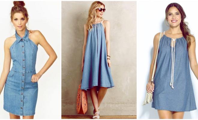 5 formas de usar un vestido de mezclilla para lucir estupenda