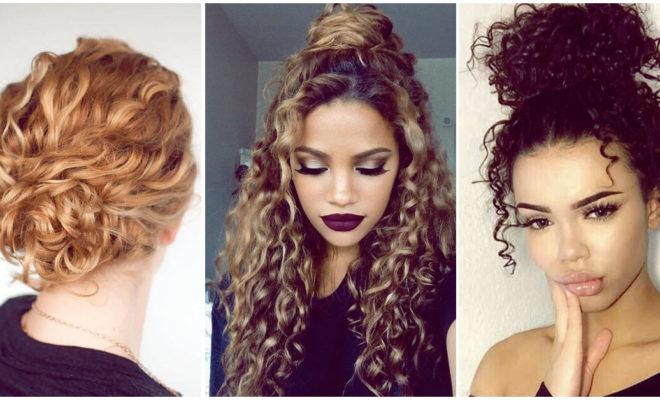 Peinados para cabello rizado que puedes hacer en menos de 10 minutos