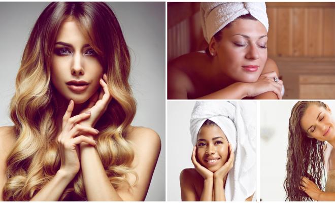 Tratamiento con toalla caliente para devolver el brillo a tu cabello