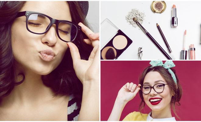 Sácale provecho a tus gafas con estos consejos de maquillaje
