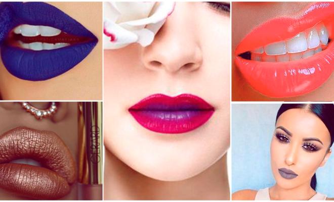 Colores de labios que debes atreverte a llevar alguna vez