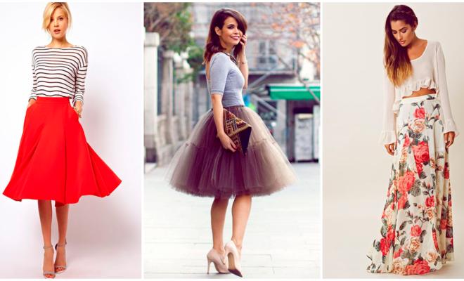 Faldas con las que puedes crear un look increíble e irresistible esta semana