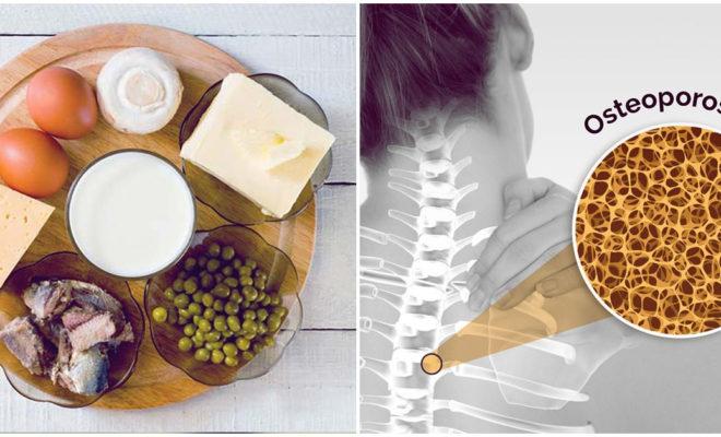 Prevén la osteoporosis con una dieta alta en vitamina D