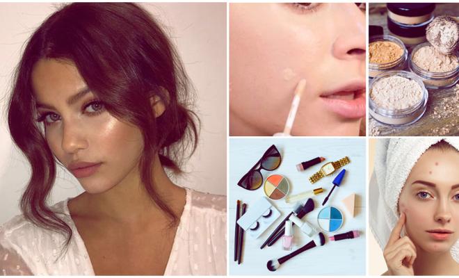 Cómo no exagerar con tu makeup cuando tienes acné