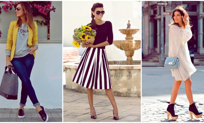 ¡Crea looks casuales con ayuda de tus zapatos favoritos!