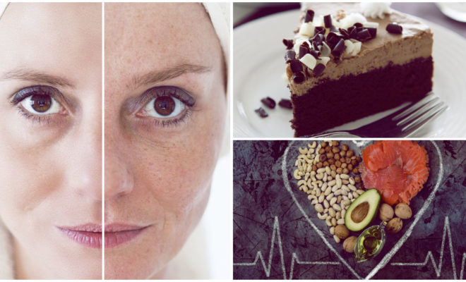 Tu dieta puede ser la culpable de que te veas mayor