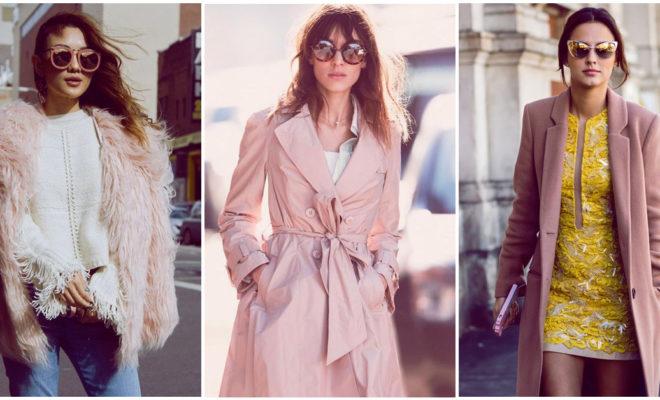 Los mejores abrigos rosas para tener en tu clóset