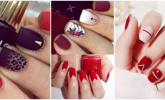 Los mejores diseños con uñas rojas para tu próxima manicura