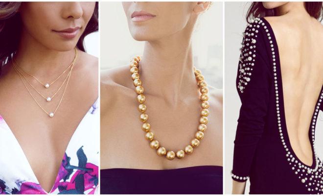 Usa perlas para lucir elegante y super sexy