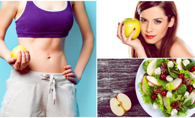 Pierde peso de manera acelerada con la dieta de la manzana