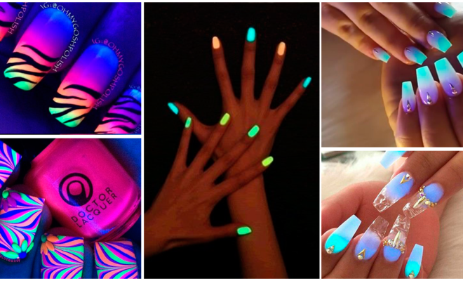 ¡Manicura fluorescente!: ideal para salir de fiesta