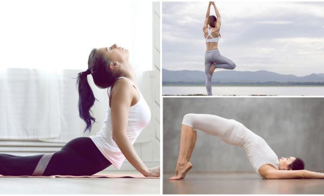 Las mejores posiciones de yoga para levantar tus pompis