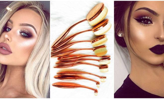 Brochas ovaladas para maquillarte: ¿cómo se usan?