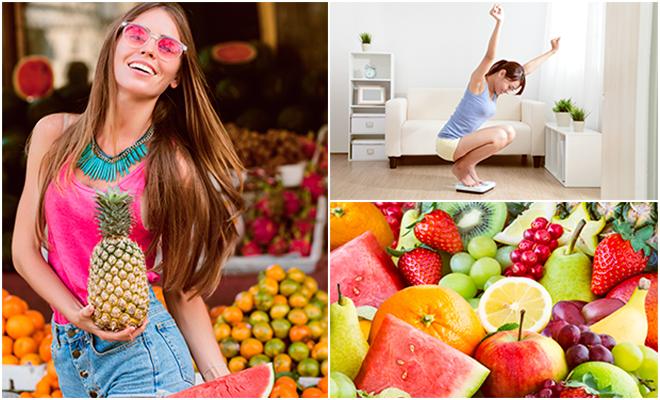 ¡Aprovecha estas 10 frutas para quemar grasa más rápido y lucir una figura de 10!
