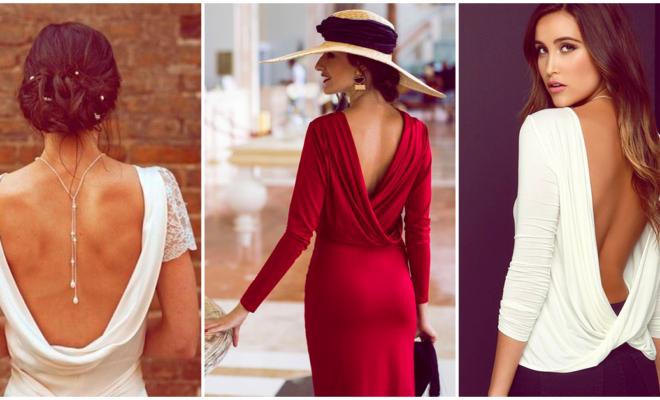 Outfits ideales para lucir tu espalda de manera sexy