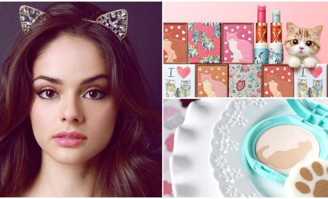 Si eres amante de los gatos, estos cosméticos son para ti