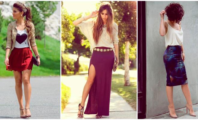 La mejor forma de combinar tus faldas y obtener un look colorido