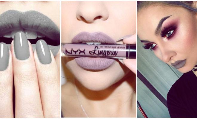 Los labiales grises más lindos para lucir en toda ocasión