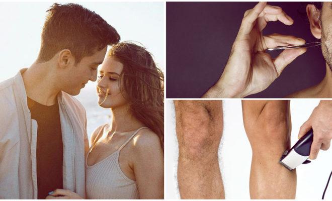 Ventajas y desventajas de salir con un hombre que se depila