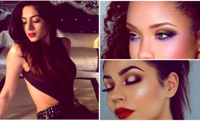 Maquillaje en colores intensos ¡ideales para las latinas!