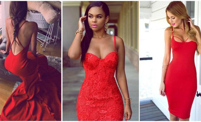 Vestidos de noche en color rojo: ¿cuándo sí y cuándo no?