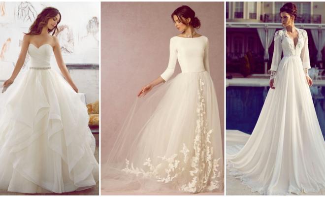 Vestidos de novia super lindos, ¡no sabrás cuál elegir para ese día tan especial!