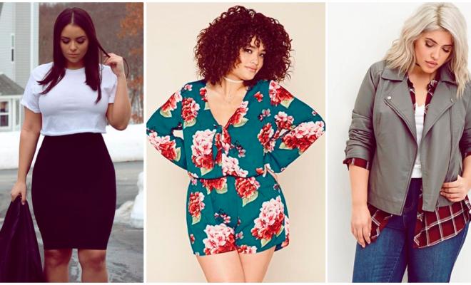 Looks trendy para chicas curvy, ¡presume tus curvas!