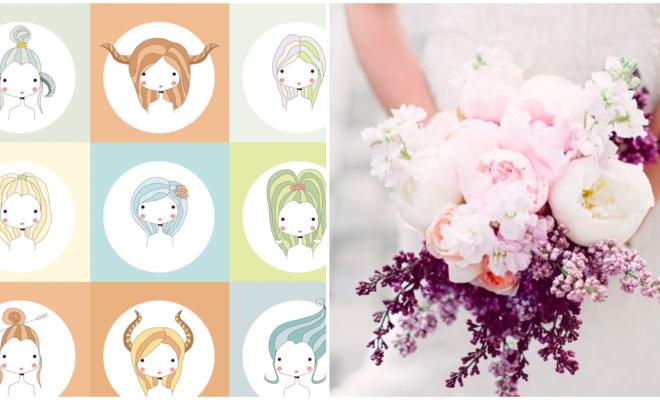 Tu ramo de novia ideal según tu signo zodiacal