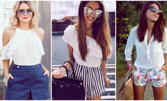 Outfits con shorts para presumir tus piernas en una cita