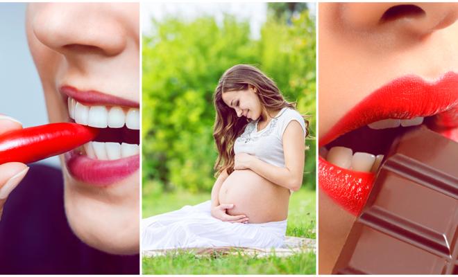 Antojos más comunes que tienen las mujeres durante el embarazo