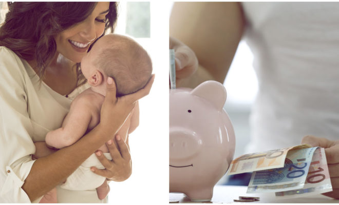 La mejor forma de ahorrar un poco de dinero cuando hay un bebé en casa