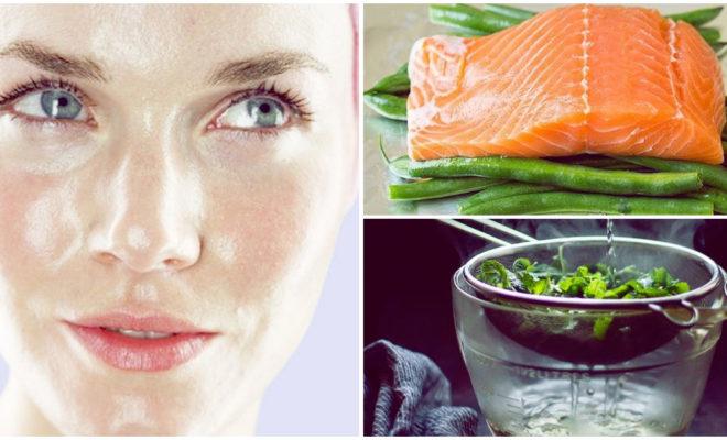 Disminuye el sebo de tu piel con estos alimentos