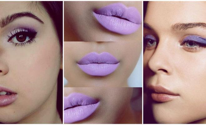 Makeup en tonos lilas para lucir radiante todos los días