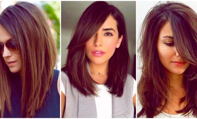 Innovadores cortes de melena para chicas de cabello largo