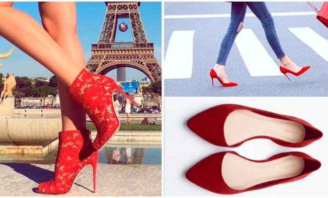 Los zapatos rojos perfectos para cada estilo, ¿cuál es el tuyo?