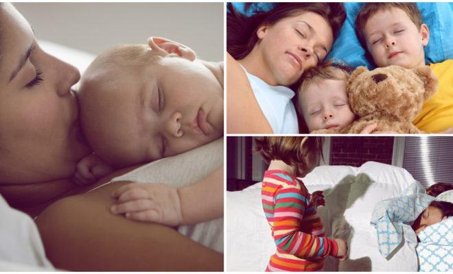 Acostarte con tu hijo hasta que se duerma, ¿sí o no?