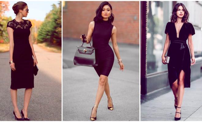 Vestidos formales negros que vas a amar