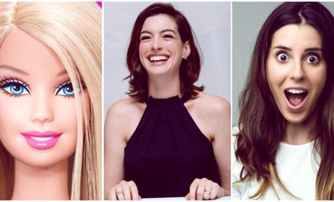 Anne Hathaway podría ser quien interprete a Barbie