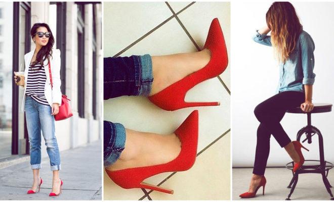 ¡Combina tus zapatillas rojas con los mejores looks!