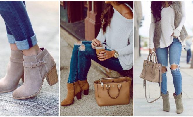 Jeans con botines, esta es la mejor forma de usarlos