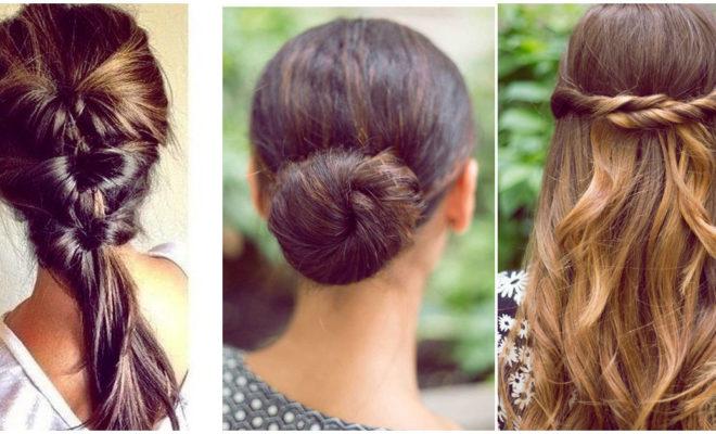 Peinados super sencillos para las chicas que odian arreglarse el cabello