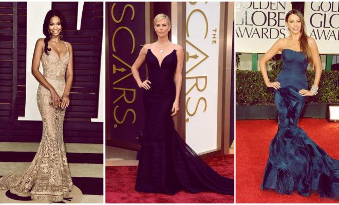 Vestidos sirena, los favoritos de las famosas: ¡increíbles!, ¿no crees?