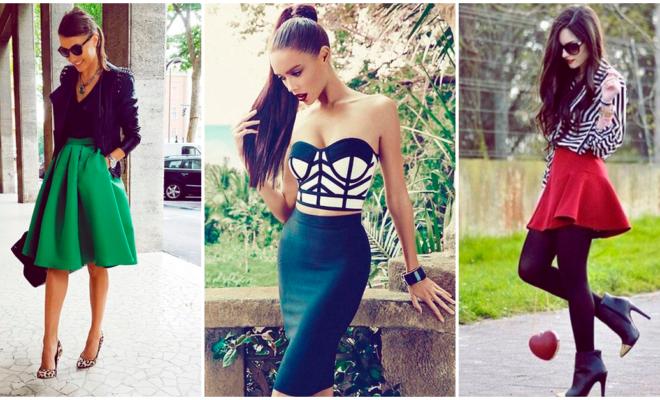 Diferentes faldas con las que puedes adquirir un look super sexy