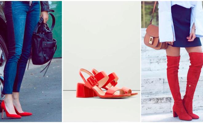 Zapatos rojos, el mejor accesorio para lucir super sexy