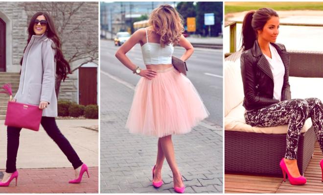La selección de tacones rosas que toda mujer ama