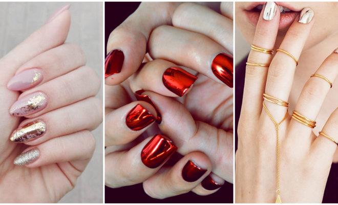 Los mejores diseños de uñas para combinar con tu vestido rojo