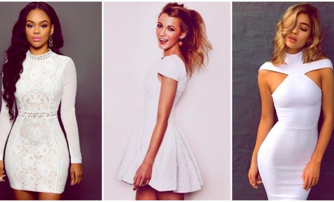Cómo usar un vestido blanco en diferentes ocasiones