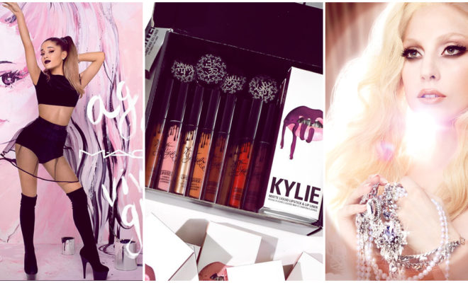 Líneas de maquillaje lanzadas por celebridades que te encantarán