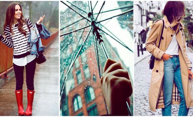 Prendas básicas para esta temporada de lluvias