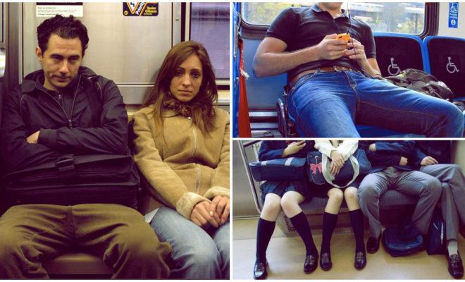 Manspreading, la manera repugnante en que los hombres se sientan, ¡conócela!